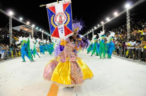 União da Vila do IAPI entra no Sambódromo em busca do primeiro título Marcelo Oliveira/