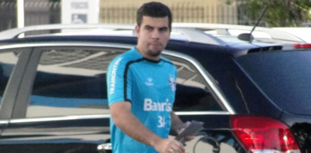 André Lima segue sem previsão de retorno ao time do Grêmio Vinicius Rebello/