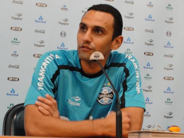 Rafael Marques supera problemas e aguarda novas oportunidades no Grêmio Tatiana Lopes /