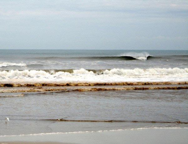 Mar baixa e tem formação melhor no Rio Grande do Sul e em Santa Catarina Ki Fornari/