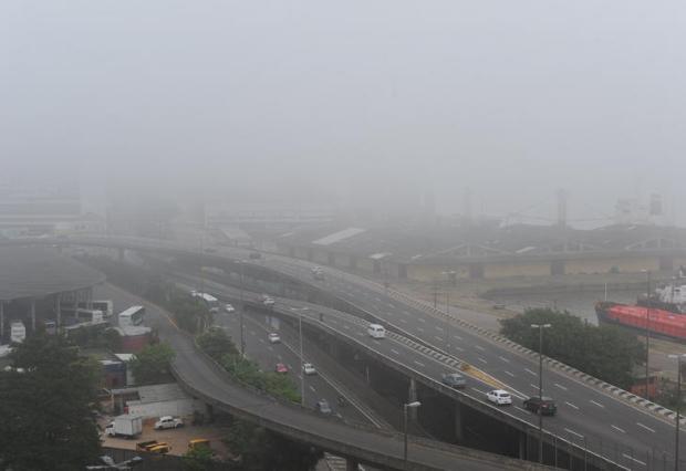 Junho começa com neblina nas regiões Metropolitana, Sul e Central Ronaldo Bernardi/Agencia RBS