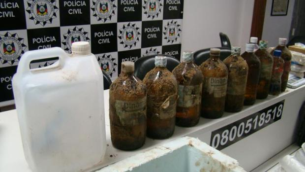 Gangues da droga estão  em pé de guerra Ellen Dick, Divulgação Denarc/Polícia Civil/