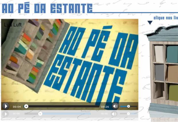 Sergio Faraco é o segundo autor da série Ao Pé da Estante Editoria de arte online/ZH