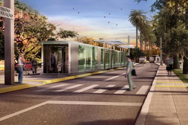Porto Alegre só terá sistema BRT após a Copa, admite prefeitura Divulgação/Prefeitura Municipal