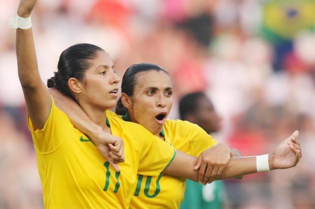 Futebol feminino: Hoje é dia de torcer pelo Brasil Ver Descrição/Ver Descrição
