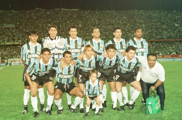 Cacalo: maturidade gremista fez a diferença no bi da Libertadores em 1995 José Doval/Agência RBS/