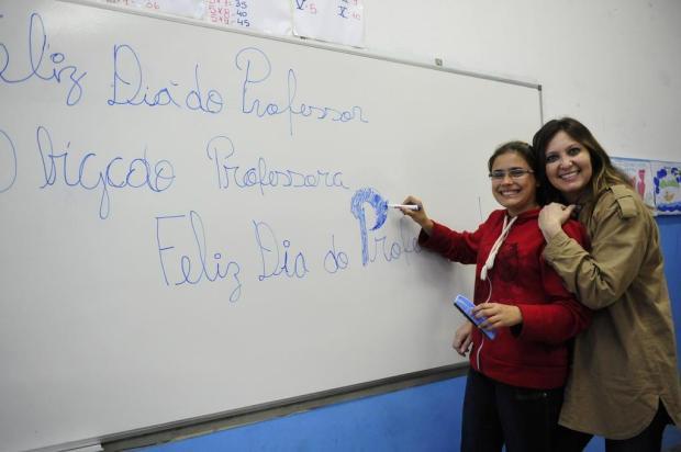 Com o dom de transmitir a sabedoria Luiz Armando Vaz/Agencia RBS