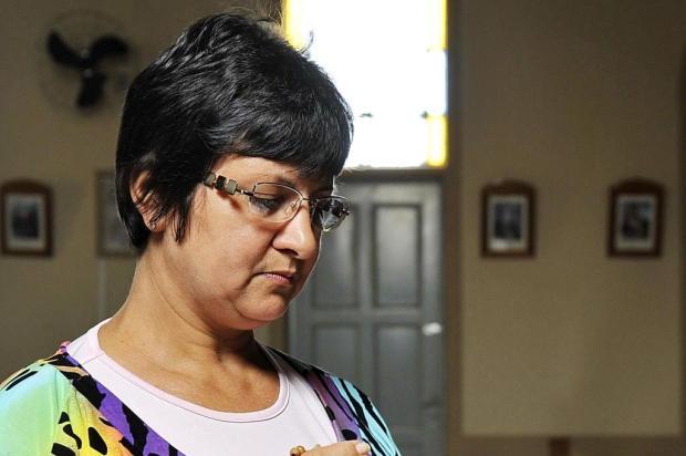 Fiéis se reúnem para rezar por idosa gaúcha que desapareceu em SP Mateus Bruxel/Agencia RBS