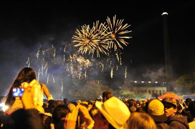 Festa da virada na Usina do Gasômetro terá 12 minutos de fogos de artifício  Tadeu Vilani/Agencia RBS