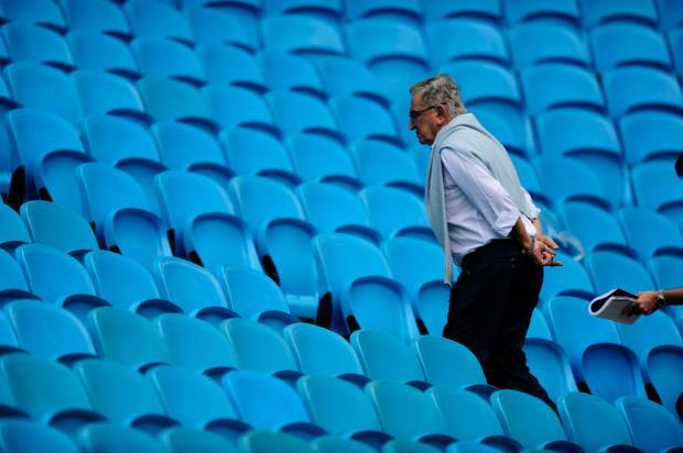 Grêmio recebeu pagamento antecipado de R$ 10 milhões da OAS Mauro Vieira/