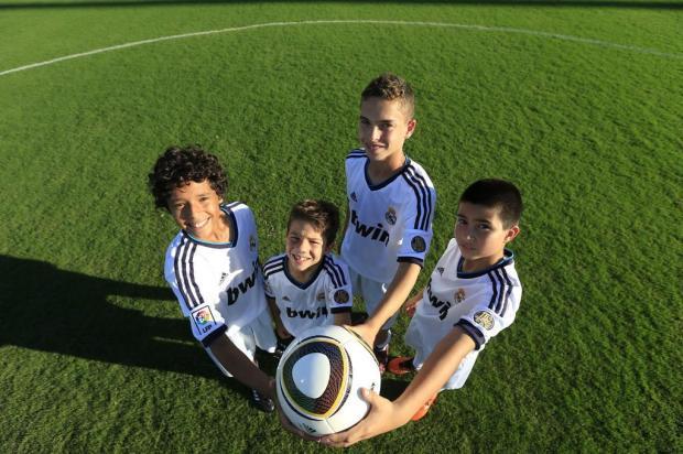 Campeões da Peneirinha Gillette treinarão no Real Madrid Diego Vara/Agencia RBS