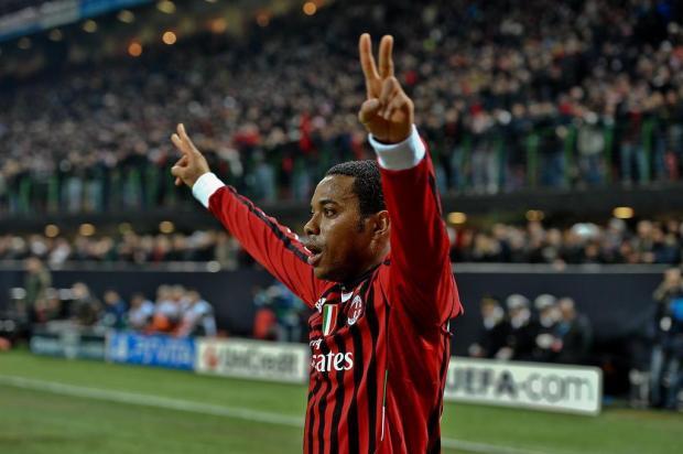 Inter contata Robinho e clube deve se reunir com o atacante em 15 dias Andreas Solaro/AFP