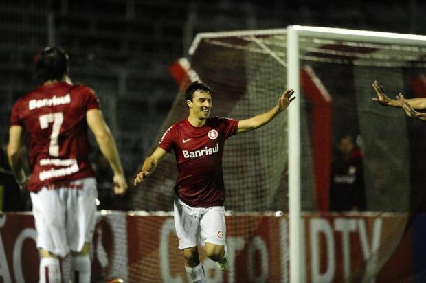 Scocco está fora dos planos do Inter e deve ser negociado com o futebol europeu Mauro Vieira/Agencia RBS