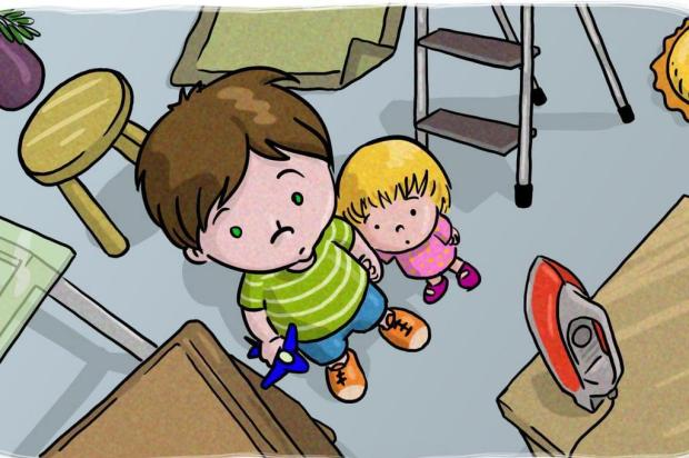 Monte um ambiente seguro para as crianças em sua casa Perkins/PROTESTE/Divulgação
