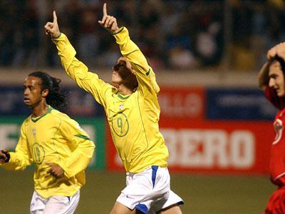 Igor comemora o gol da classificação brasileira:imagem 5