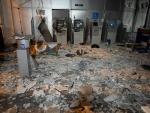 Criminosos explodem agência bancária em Porto Alegre