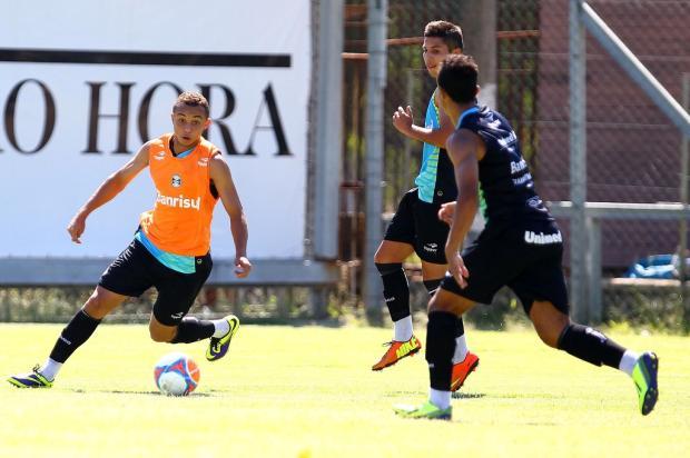 Artilheiro em Gre-Nais, Everton é a opção caseira de velocidade para o Grêmio Rodrigo Fatturi/Divulgação Grêmio