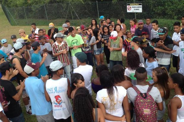Evento de jovens da periferia foi realizado para reunir músicos Cláudio Rabin/Agencia RBS