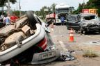 Irmãos de 5 e 7 anos morrem em acidente na RS-240, em Portão Charles Dias/Especial
