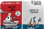 Os Flautistas: Dupla Gre-Nal afunda na rodada do fim de semana (Gilmar Fraga/Arte)