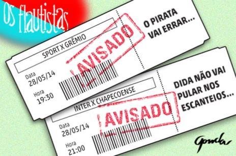 Os Flautistas: aviso aos torcedores da dupla Gre-Nal (Fernando Gonda/Arte ZH)