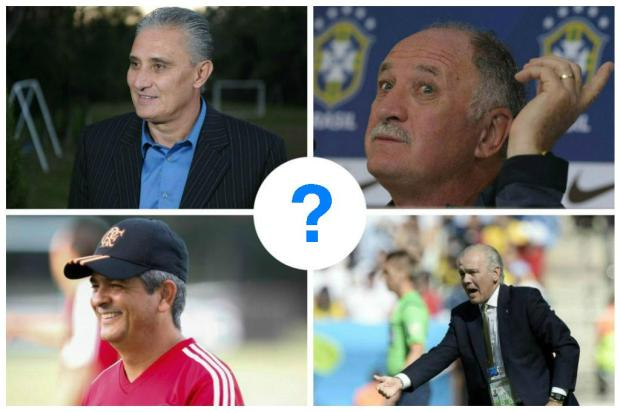 ENQUETE: quem deve ser o novo técnico do Grêmio? Montagem sobre fotos/