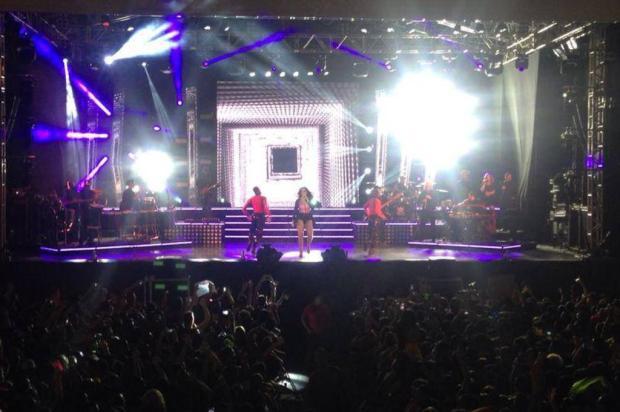 Ivete Sangalo estreia turnê em Vitória Divulgação/Divulgação