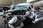 Motorista morre após colidir contra pilar e carro incendiar na Capital Ronaldo Bernardi/Agencia RBS