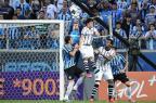 Cotação ZH: Grohe e Barcos são os destaques na vitória do Grêmio sobre o Corinthians Bruno Alencastro/Agencia RBS