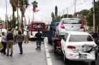 Sete veículos colidem na Avenida Padre Cacique, em Porto Alegre Tadeu Vilani/Agencia RBS