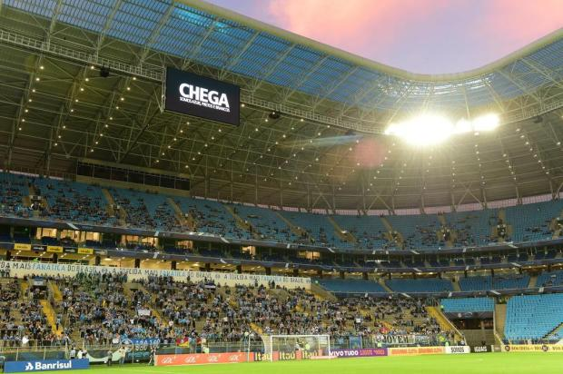 Atos racistas levam Grêmio a suspender atividades da Geral Fernando Gomes/Agencia RBS