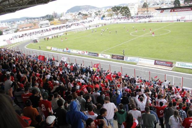Um dos mais tradicionais de SC, Estádio Vidal Ramos Junior, casa do Inter de Lages, completa 60 anos neste domingo  Nilton Wolff / O Goleador/Divulgação