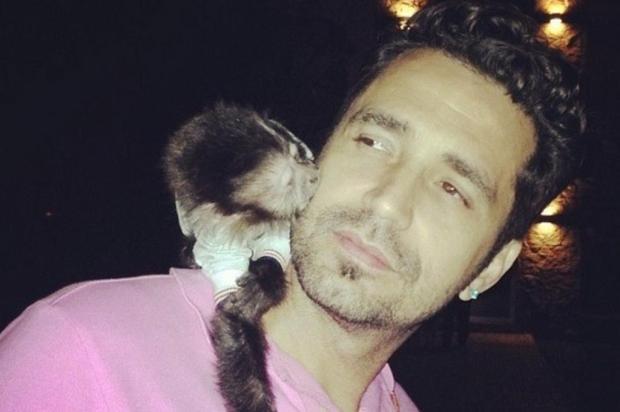 Assessoria de Latino nega que macaco tenha sido encontrado reprodução/instagram