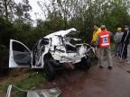 Acidente deixa uma pessoa morta em Cachoeira do Sul (Marcelo Marques/Divulgação)