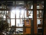 Bandidos explodem banco em Barra do Ribeiro