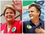 Istoé/Sensus: Aécio tem 52,1% e Dilma, 47,9% Montagem sobre fotos de Ichiro Guerra e Marcos Fernandes / Divulgação/