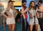 Mc Ludmilla usa o mesmo vestido que atriz usou em clipe Reprodução/EGO