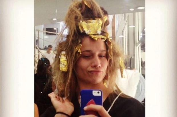 Fernanda Gentil coloca foto toda descabelada no salão de beleza reprodução/instagram