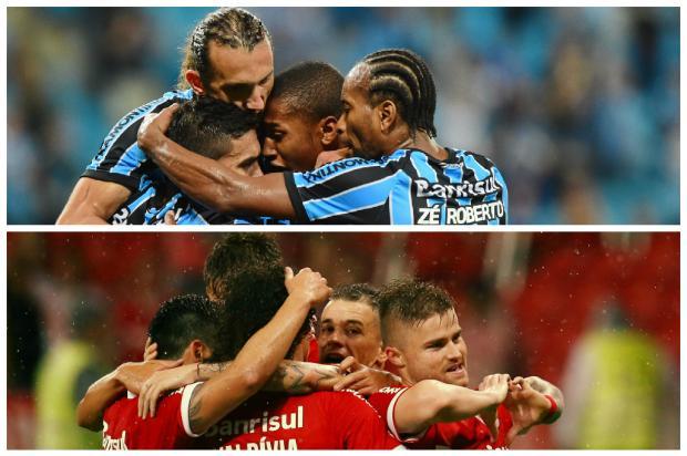 Duelo de rankings: como a dupla Gre-Nal se saiu nas listas mundiais em 2014 Montagem sobre fotos de Fernando Gomes e Mauro Vieira/Agência RBS