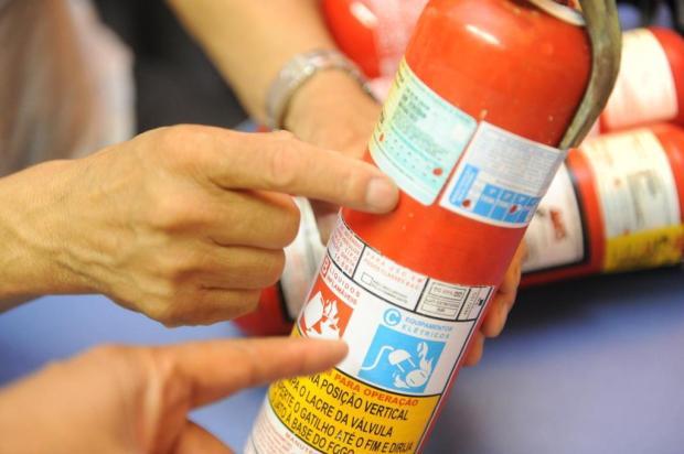 Obrigatoriedade de uso de extintor ABC será prorrogada pela terceira vez Luiz Armando Vaz/Agencia RBS