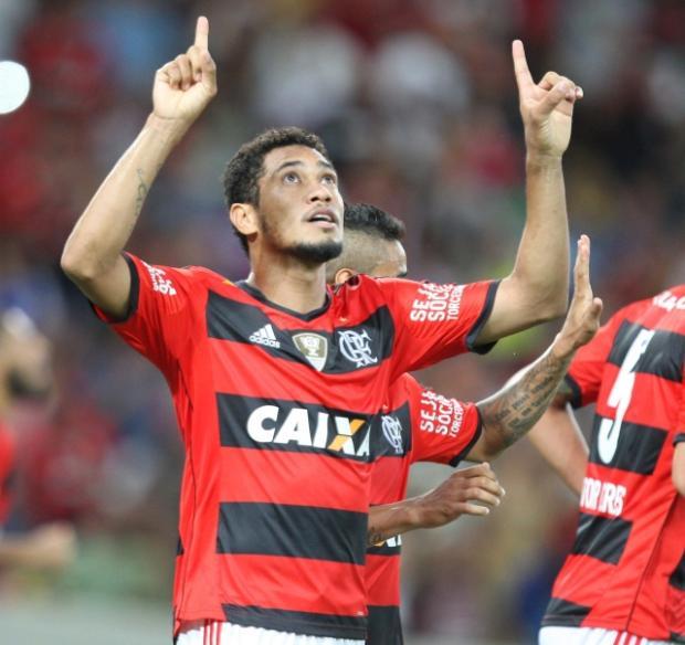 """Guerrinha: """"Fim da espera"""" Divulgação / Flamengo /"""