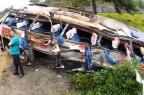 Gráfico: como foi o acidente com ônibus que matou nove pessoas em SC Reprodução/Reprodução