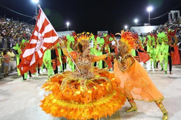 Vencedora: Imperadores do Samba conquista seu 20º título Carlos Macedo/Agencia RBS