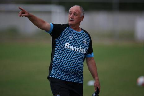 Relembre o retrospecto de Felipão na terceira passagem pelo Grêmio (Diego Vara/Agencia RBS)