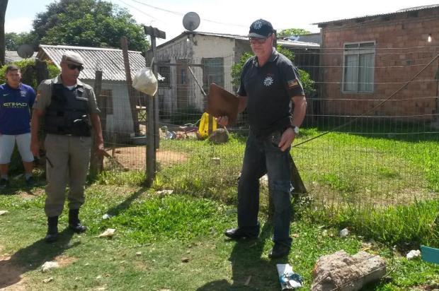 Chacina no Jardim Algarve espalha o terror entre moradores Eduardo Torres/Diário Gaúcho