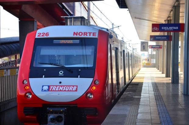 Trensurb terá mais viagens nos finais de semana da Expointer Divulgação/Trensurb/