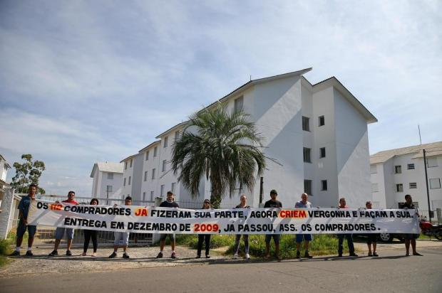 Moradores aguardam há seis anos a entrega de condomínio do Minha Casa, Minha Vida em Gravataí Félix Zucco/Agencia RBS