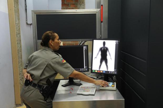 Com scanner corporal, apreensão de drogas no Presídio Central cresce 300% Luiz Armando Vaz/Agencia RBS
