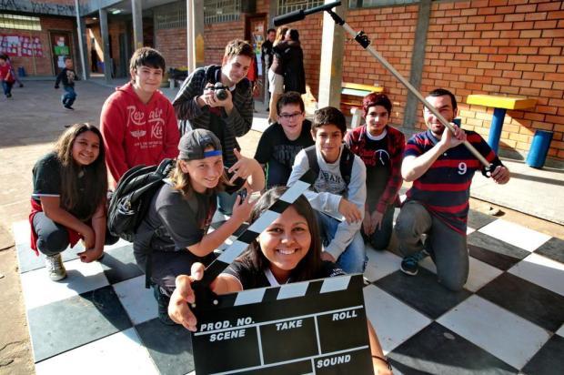 Estudantes de Alvorada terão seus curtas exibidos em festival de cinema do Rio Ricardo Duarte/Agencia RBS