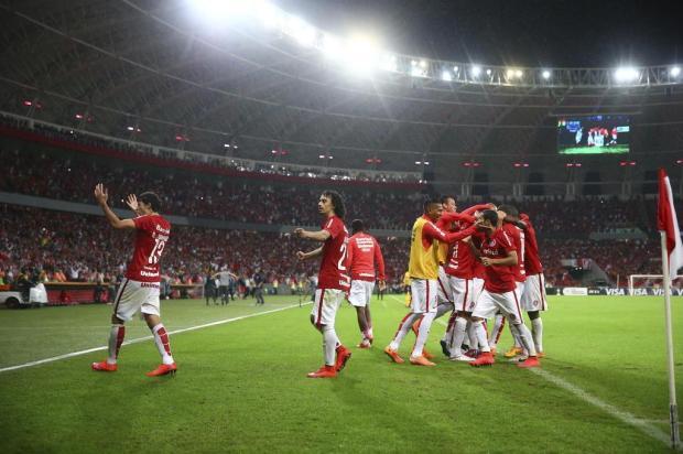Inter fica com menos de 20% da bilheteria em jogos da Libertadores  Félix Zucco/Agencia RBS
